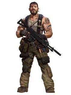 Apocalypse World, Apocalypse Art, Character Concept, Character Art, Character Design, Apocalypse Survivor, Shadowrun Rpg, Apocalypse Character, Cyberpunk Rpg