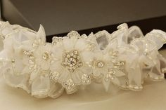 Wedding garter set - Sunflower ( 1 qty ready to ship) from MillieIcaro