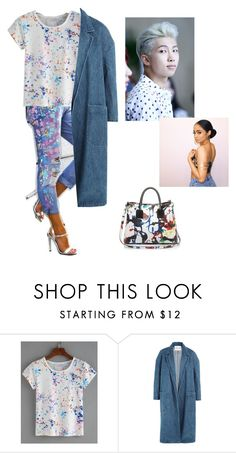 """""""Kaycee monster"""" by ponysam ❤ liked on Polyvore featuring Sandy Liang, Milly, kpop and bts"""