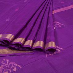 Ghanshyam Sarode Handwoven Jamdani Uppada Silk Saree 10007987 - profile - AVISHYA.COM