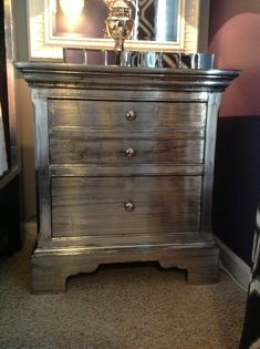 Charming Pin By General Finishes Pinterest On Metallic Painted Furniture | Pinu2026