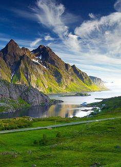 Lofoten , county of Nordland, Norway ☮️k☮️ #Norge