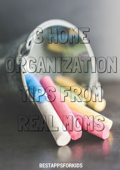 6 Home Organization Tips From Real Moms. Getting Organized At Home, Real Moms, Home Management, Home Organization Hacks, Parenting, Education, Onderwijs, Learning, Childcare