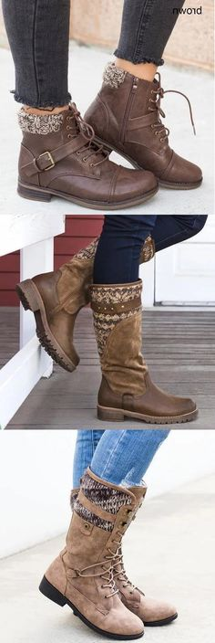 Hot Sale Winter Knit Boots.Free Shipping.Shop Today>> Pick One For Your Daily Looks. Beauty Style, Fashion Beauty, Womens Fashion, Knit Boots, Snow Boots Women, Vintage Boots, House Furniture, Daily Look, Street Chic
