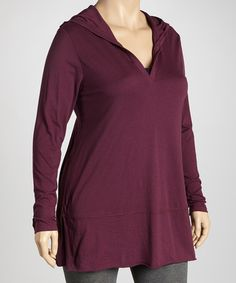 Another great find on #zulily! Pinot Hoodie Tunic by TROO #zulilyfinds