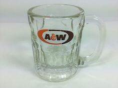 Vintage A & W Root Beer Mug Small Souvenir by FindingYesterday