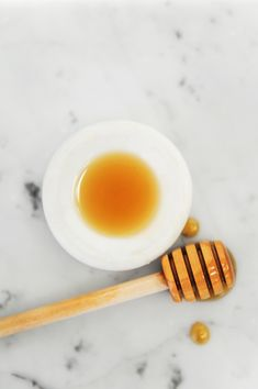 ✨ Quick skincare tip ✨Keep a small jar of crystallized raw honey In your bathroom. Here's how to use it:⁠
