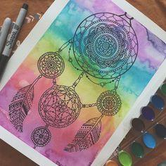 Mandala: Arcoíris