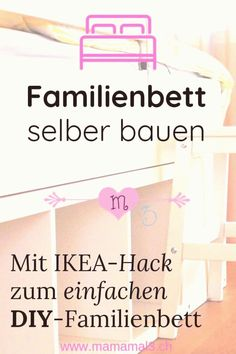 Most Current No Cost A Family Bed Now We Have It Mom Times 3 Concepts Die Meisten Effektive Ei In 2020 Ikea Hack Family Bed Ikea