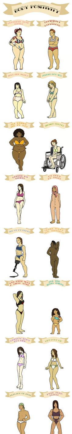 Want more body positive inspo? Tired of being made to feel like you aren't good enough by the media? Check out these safe spaces that welcome everybody, no matter your size, shape, colour, age, gender or sexual preference etc: www.facebook.com/positivebodyimage89  www.positivebodyimageinspiration.tumblr.com