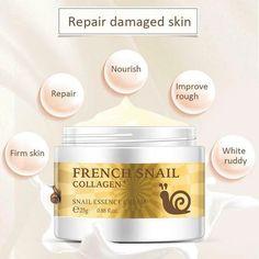 Health Snail Face Cream Hyaluronic Acid Moisturizer Anti Wrinkle Aging Cream for Face Nourishing Serum Day Cream for Face Hyaluronic Acid Moisturizer, Collagen Serum, Skin Serum, Anti Aging Moisturizer, Anti Aging Facial, Anti Aging Skin Care, Tighter Skin, Glycerin, Firming Cream