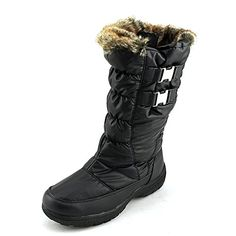 Weatherproof Womens Becky Snow Boot Black 6 >>> Click image for more details.(This is an Amazon affiliate link)