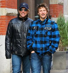 Bon Jovi Family Photos | Jon Bon Jovi and Jesse Bongiovi