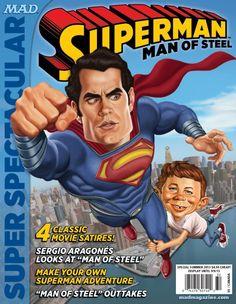 MAD Magazine Superman Cover