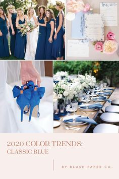 Choosing your wedding colors isn't as easy as it sounds.  How do you   even decide when there are so many amazing options out there?!    By the   time couples get to me, they have their color scheme selected.  It's   almost always centered around the season – winter, spring, summer and   fall – so I thought I'd have some fun and put together my favorite color   palettes to share with you based on the top trends of 2020.