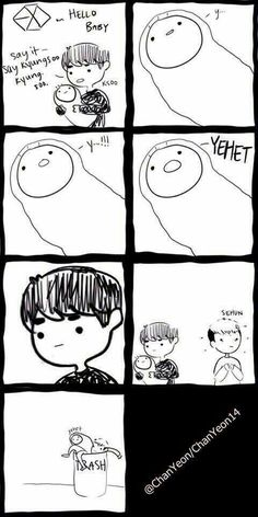 Kyungsoo and Sehun. Yehet