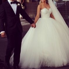 I may not look like the girly type but I want to look and feel like a princess on my wedding day big dress and all!