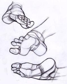 Anatomy of the Human Foot, Anatomie des menschlichen Fußes Human Anatomy Drawing, Human Figure Drawing, Figure Sketching, Figure Drawing Reference, Art Reference Poses, Hand Reference, Anatomy Sketches, Art Drawings Sketches, Sketch Art