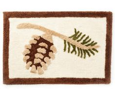 I found a Holiday Pinecone Bath Rug at Big Lots for less. Find more at biglots.com!