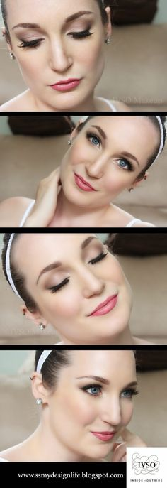 Easy DIY Bridal Makeup Tutorial!  More tutorials at www.ssmydesignlife.blogspot.com
