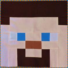 I think it needs stitches.: Minecraft Mondays Sew Along Minecraft Blocks, Minecraft Crafts, Boys Quilt Patterns, Amazing Minecraft, Butterfly Quilt, Block Craft, Boy Quilts, Egg Decorating, Quilt Tutorials
