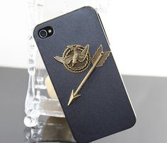 Hunger Games Inspired Mockingjay Hard Case Cover by BeautyandLuck, $7.99