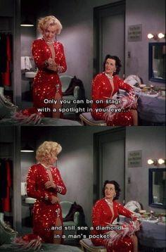 Gentlemen Prefer Blondes: Marilyn Monroe and Jane Russell