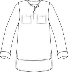 Mens Sewing Patterns, T Shirt Sewing Pattern, Tunic Pattern, Clothing Patterns, Mens Tunic, Clothing Sketches, Long Sleeve Tops, Summer Nights, Hemp