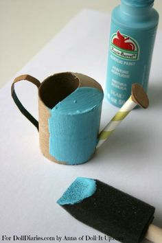 Doll Craft-Make a Watering Can — Doll Diaries