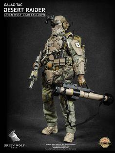 Green Wolf Gear Galac-Tac Desert Raider Exclusive Version - 004