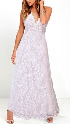 It's official, the Forever and Always White Lace Maxi Dress is our go-to stunner! A lovely floral lace maxi dress with a nude lining. White Lace Maxi Dress, Backless Maxi Dresses, White Maxi, White Dresses For Women, Little White Dresses, Dress The Population, Ideias Fashion, Formal Dresses, Wedding Dresses