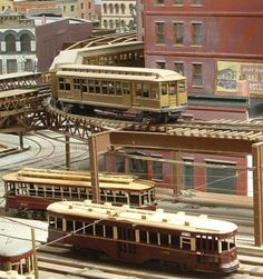 model elevated trains