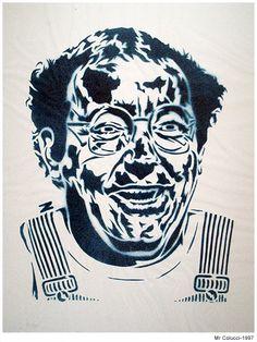 Mr Collucci. 1997 Stencil Graffiti, Artworks, Street Art, Joker, Fictional Characters, Art Pieces, Jokers, The Joker, Art