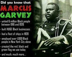 Happy Earthday to the king of Pan Africanism, the honorable Marcus Mosiah Garvey. Marcus Garvey Quotes, Fleet Of Ships, Pan Africanism, Black Entrepreneurs, Mind Blowing Facts, African Diaspora, Black Pride, My Black Is Beautiful, Know Who You Are