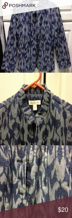 Beautiful jacket In excellent condition.  All botton good & intact.  6 petite Coldwater Creek Jackets & Coats