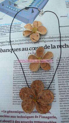 """Parure Printanière """"Fleurs de liège"""" : Parure par le-chaudron-de-la-sorciere"""
