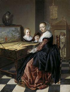 Molenaer, Jan Miense -- De virginaalspeelster, 1630-1640