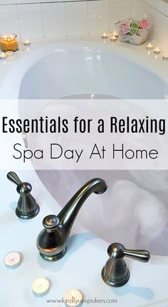 Ready for the ultimate spa day at home? Today I'm sharing all the must-have essentials for a relaxing spa day at home, plus the best home spa products for pampering yourself! day at home checklist Essentials For A Relaxing Spa Day At Home Diy Spa Day, Spa Day At Home, Beauty Essentials, Wordpress Theme, Spa Tag, Spa Night, Get Rid Of Blackheads, Relaxing Day, Mouthwash