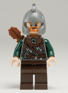 Rohan Soldier LEGO Lord of the Rings Minifigure