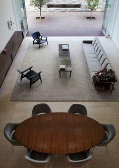 Corten House by Marcio Kogan. Corten Steel repined by www.smg-treppen.de #smgtreppen