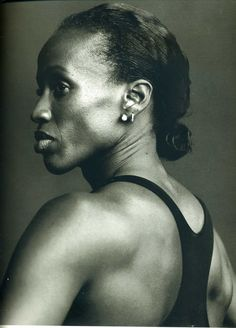 "Photo for ""Women"" Series  Jackie Joyner-Kersee, Track and field athlete, Brooklyn, New York"