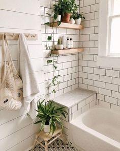 33 Modern Bathroom Decor Ideas Match With Your Home Design Style . - 33 Modern Bathroom Decor Ideas Match With Your Home Design Style - Modern Vintage Bathroom, Modern Small Bathrooms, Modern Bathroom Decor, Bathroom Interior, Bathroom Ideas, Bathroom Organization, Bathroom Storage, Minimal Bathroom, Master Bathrooms