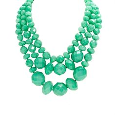 kate spade new york Give it a Whirl Triple Strand Necklace | from Von Maur #statementnecklace #turquoise