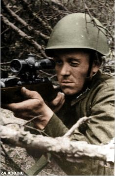 Hero of the Soviet Union,sniper Mironov,He fought in the Winter war 1939-1940,Distinguished himself in the siege of Leningrad, 223 verified ...