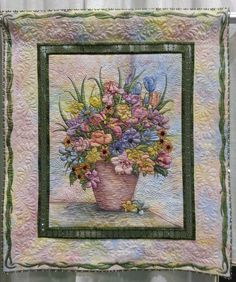 Exhibit Entry  Fabric Painting/Quilting uploaded by pinner
