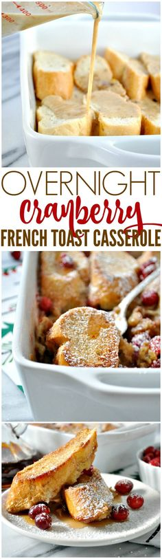 This Overnight French Toast Casserole is an easy make-ahead Christmas breakfast or brunch recipe that's perfect for the holiday season. #FestiveFlavors #ad @Target