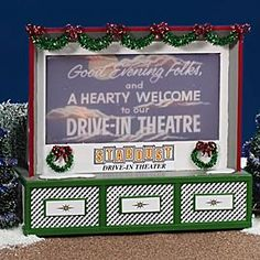 "Department 56: COLLECTING - ""Stardust Drive-In Theater"" - Retirements"