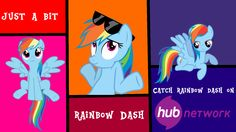 Rainbow Dash Hub Network wallpaper by LifetimeBrony on DeviantArt
