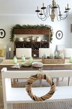 12 Days of Christmas Tablescapes! Join 12 of the best DIY bloggers on a tour of their holiday tables.