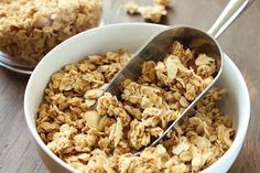 french vanilla almond granola